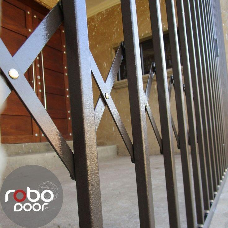 Steel Security Doors. Robo Doors quality trellis doors.