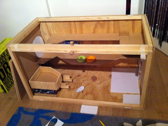 EDIT:You find the detailed step by step guide for building this hamster cage here –Building your own hamster cage step by step guide If you have seen Hazels big hamster cage in some of my p…