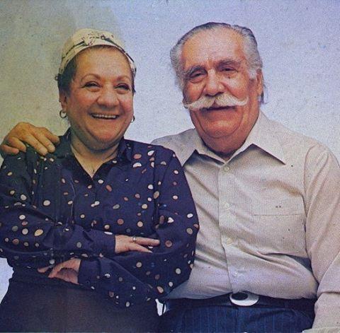 Türk Sineması'nın en anacan ve en babacan ikilisi..Adile Nasit & Hulusi Kentmen.. #AdileNasit #HulusiKentmen