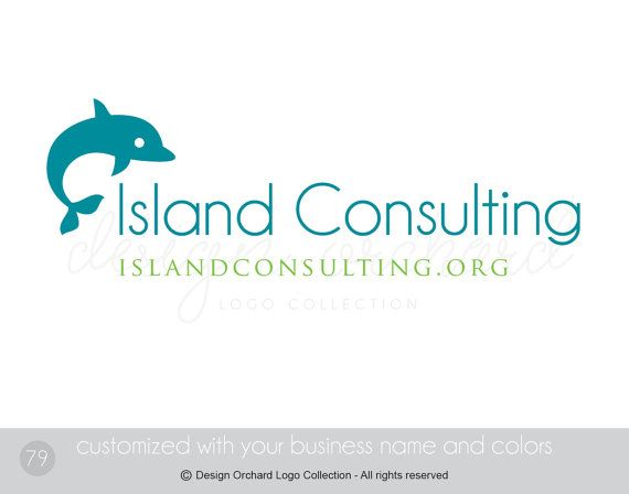 Consulting logo Business Consultant Logo by DesignOrchard on Etsy