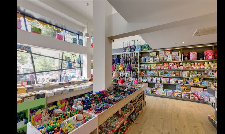 MOUSE bookstore renovation store Nea Kifissia