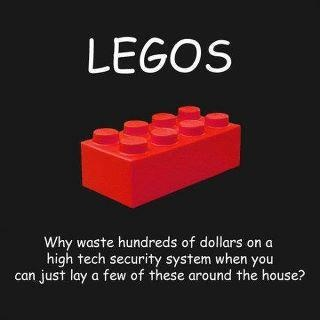 Legos and barbie shoes: Laughing, Life Parents, Lifesav Life, Security System, Funny Stuff, So True, Humor, Lego Security, Families Kids