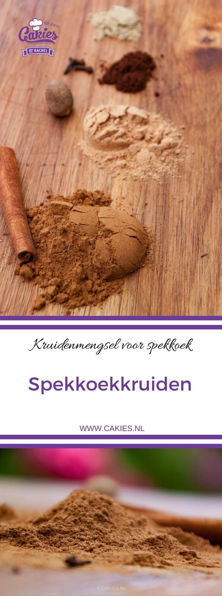 Spekkoekkruiden lijken op Speculaaskruiden en zijn een geurig mengsel van kaneel, kruidnagel, nootmuskaat en kardemom. Wist je dat je spekkoekkruiden makkelijk zelf kan maken.   Spekkoekkruiden Recept