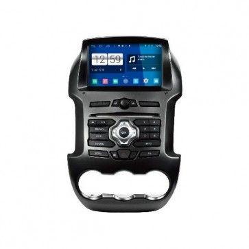 "Autoradio DVD GPS Poste Ford Ranger à partir de 2012  - 3G / 4G WIFI ANDROID 4.4.4 Ecran Capacitif tactile 8"" resolution ecran HD 1024X600 DVD - GPS - MirrorLink - Torque - TV TNT DVB-T - IPOD - SD - USB - FM - RDS - Bluetooth - Mémoire 16GO - Supporte des vidéos HD 1080p"