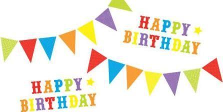 Stickers 'Happy Birthday' – FUNTOSEE