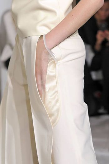 Maison Martin Margiela, pocket, detail, transparency: