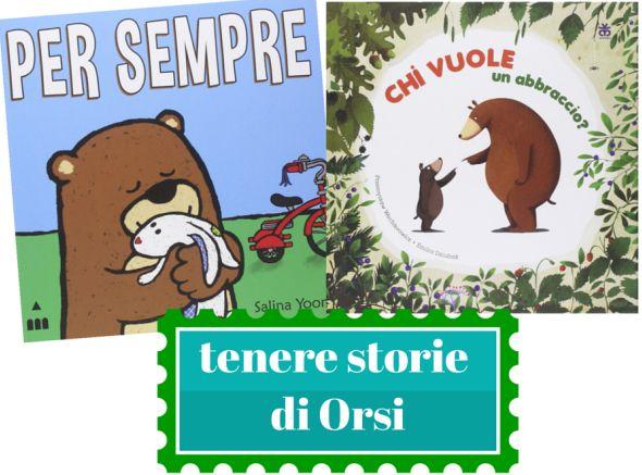 Due storie per bambini tenere sugli orsi