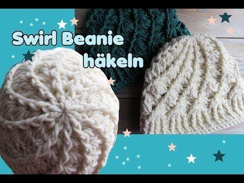 Crochet swirl beanie hat, stripes: the stripe …