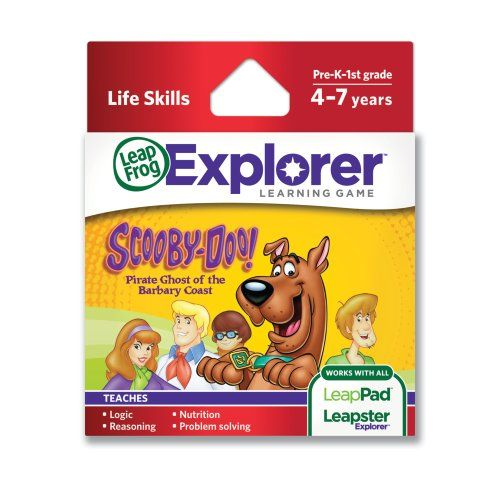 LeapFrog Explorer Game: Scooby-Doo! Pirate Ghost of the Barbary Coast (for LeapPad and Leapster) LeapFrog http://www.amazon.co.uk/dp/B004GJXJLS/ref=cm_sw_r_pi_dp_W.6tub16QY198