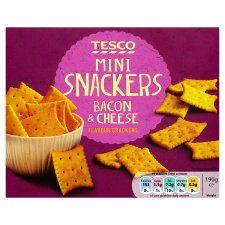 Tesco Ham And Cheese Snackers 190G - Groceries - Tesco Groceries €1.89