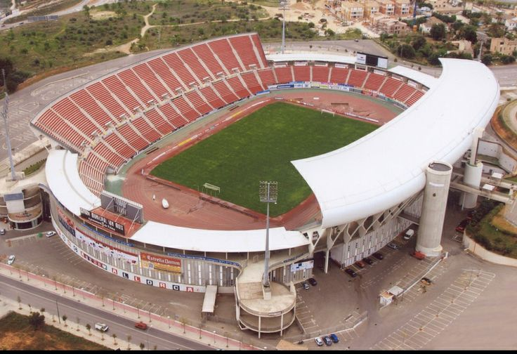 real mallorca stadium iberostar stadium estadi son moix stadions pinterest sons. Black Bedroom Furniture Sets. Home Design Ideas