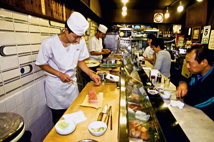 El mejor sashimi de Tokyo en el Tsukiji Fish Market