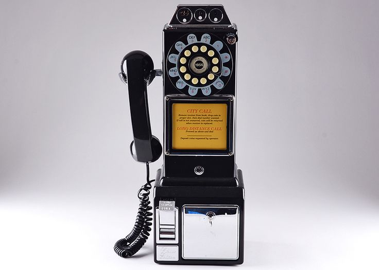 Black Telephone Bank. Every item starts at $1. #vintage