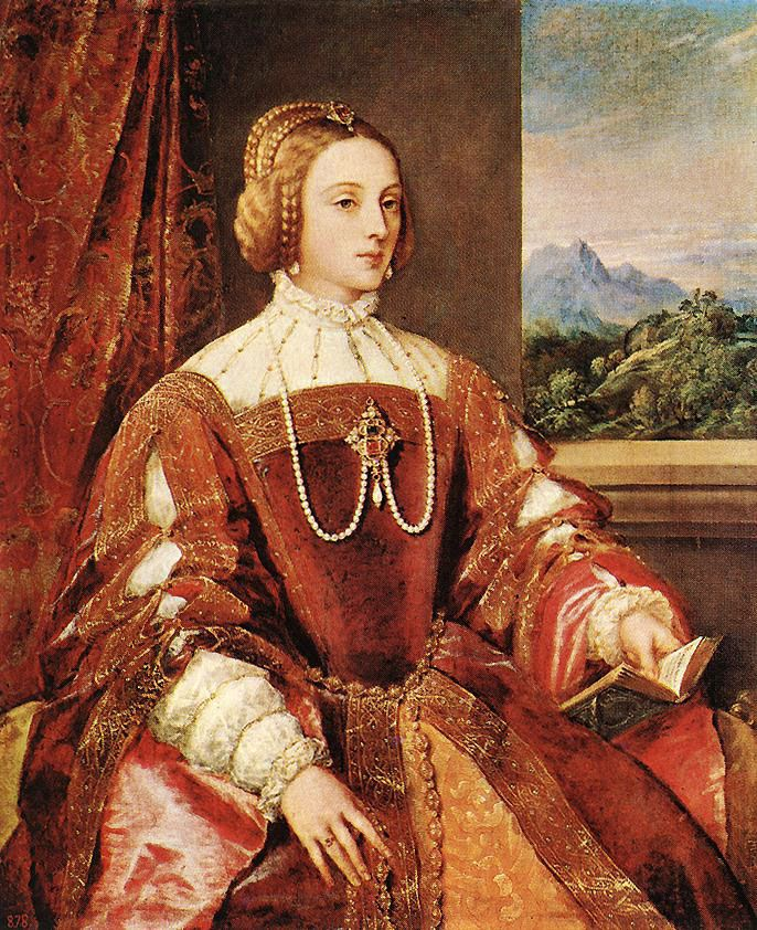 Tiziano, Empress Isabel of Portugal, 1548