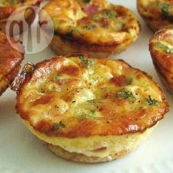 Mini quiches.