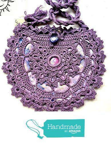 BORSE SOLELUNA - borsetta ad uncinetto lilla - pezzo unico fatto a mano da Soleluna handmade creations https://www.amazon.it/dp/B06ZY58KWR/ref=hnd_sw_r_pi_dp_cni.ybBGR28MP #handmadeatamazon
