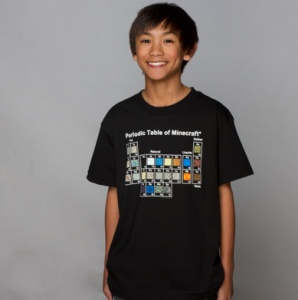 The coolest Minecraft T-shirts for your little hostile mob
