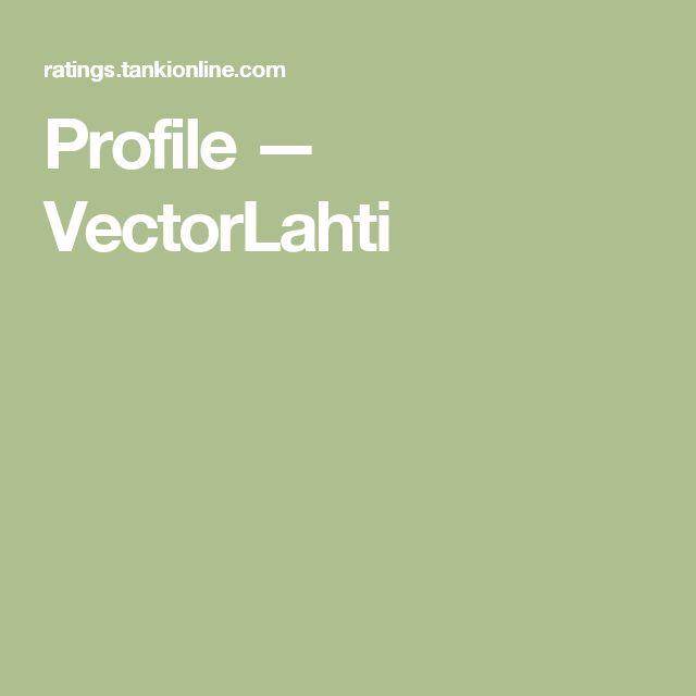 Profile — VectorLahti