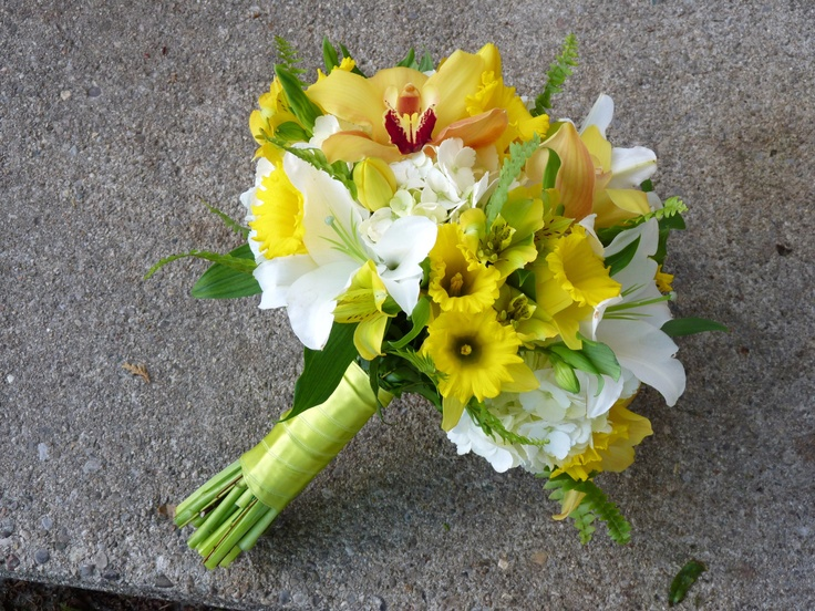 springy - with a splash of yellow!!!