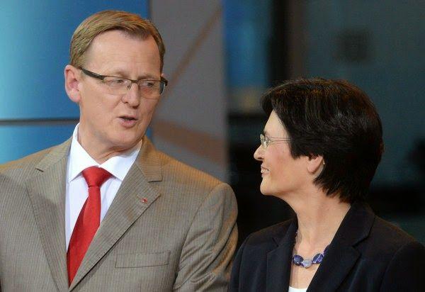 Endlich! -- Einigung in Thüringen: CDU und Linke bilden Große Koalition