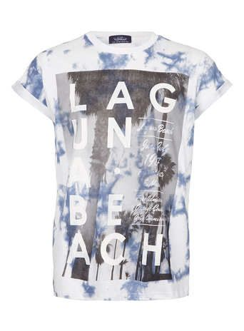 White Laguna Washed T-Shirt