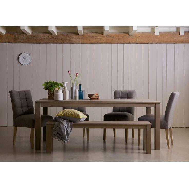 Woood Largo Eiken Eettafel Fumed - 150 x 85 cm