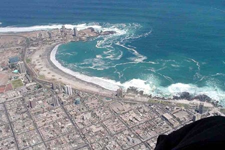 Iquique, Chile - It reminded me of a small south beach miami....!!