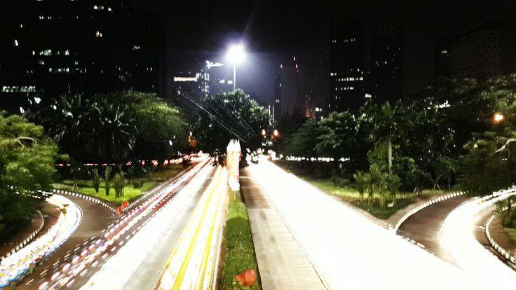 Jakarta city lighting by camera fv-5 application