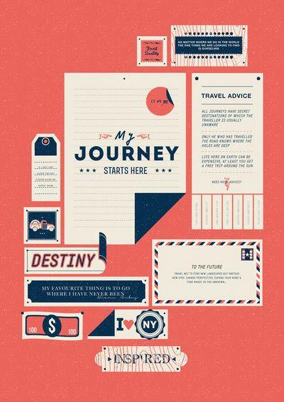 the destination: The Journey, Journey Start, Products Avail, Colors Theme, Prints Design, Destinations Art, Art Prints, Graphics Design, Vintage Travel