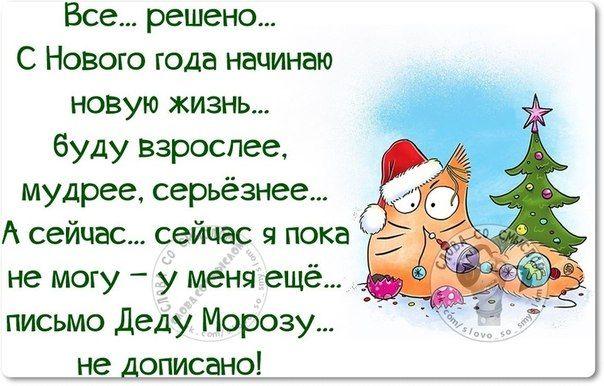 Анекдот новогоднее поздравление