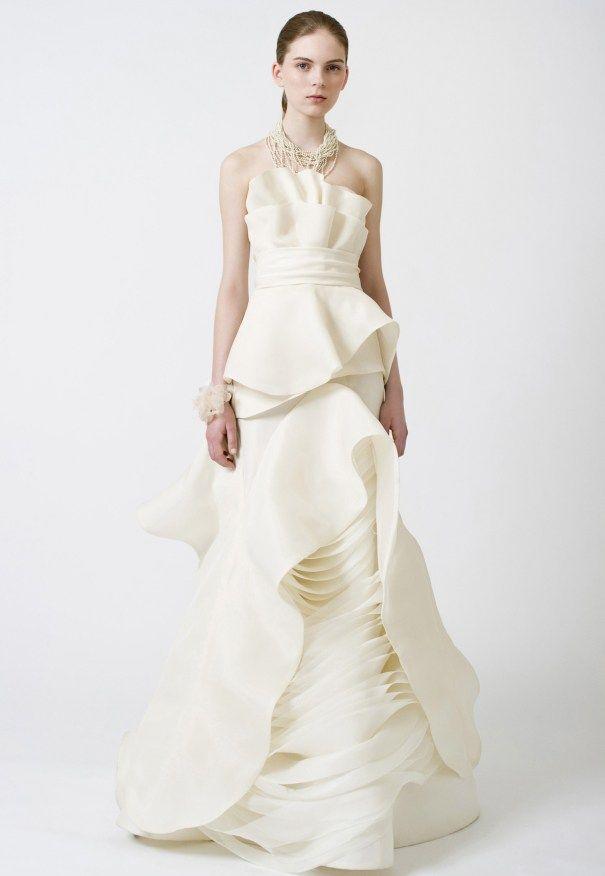 25 cute peplum wedding dress ideas on pinterest peplum style 25 pretty perfect peplum wedding dresses junglespirit Choice Image
