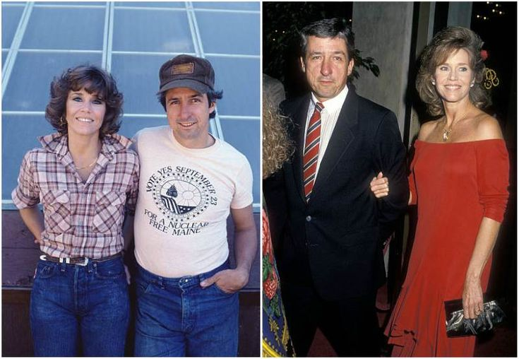 Jane Fonda's then-husband Tom Hayden
