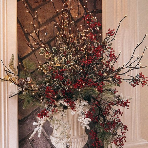 17 best images about floral design for winter on pinterest - Best dried flower arrangements a colorful winter ...