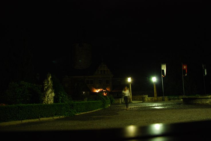 "Guests staying here may run into the ""White Lady"", as she walks the castle walls at night."