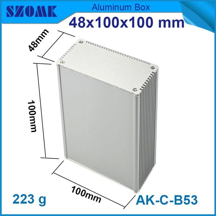 $7.28 (Buy here: https://alitems.com/g/1e8d114494ebda23ff8b16525dc3e8/?i=5&ulp=https%3A%2F%2Fwww.aliexpress.com%2Fitem%2F1-piece-anodizing-and-powder-coating-aluminum-extrusion-enclosure-for-electronics-48-100-100mm%2F32565172106.html ) 1 piece anodizing and powder coating aluminum extrusion enclosure for electronics 48*100*100mm for just $7.28