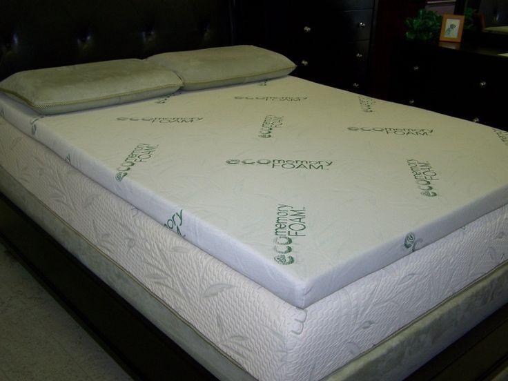 Eco Memory Foam Mattress Topper