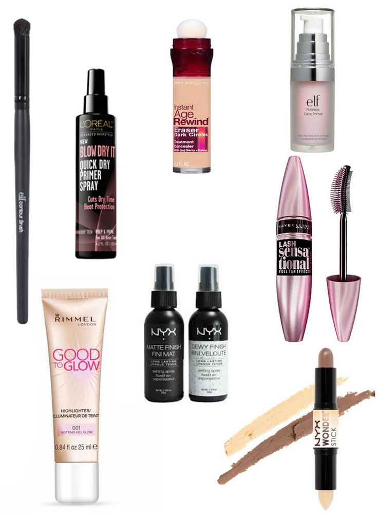 The Best Drugstore Beauty and Makeup Products for 2017