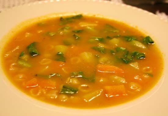 Sopa de legumes [fácil e maravilhosa]