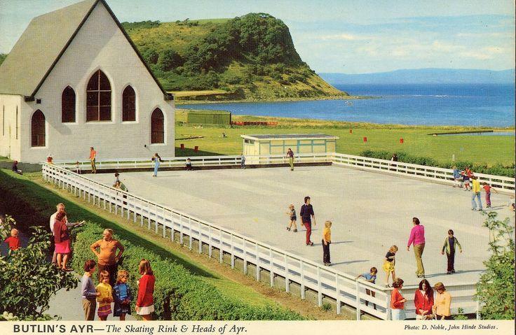 Butlins Ayr - Chapel and Skating Rink