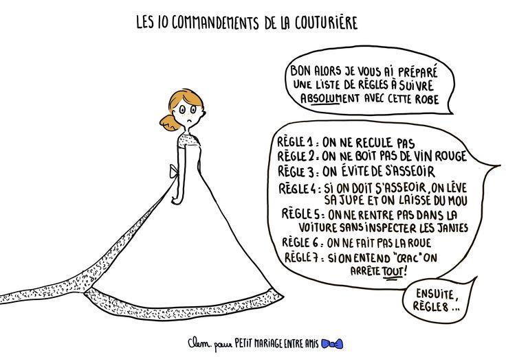 Les commandements de la couturi re les dessins de cl mentine couturi re entre amis - Dessin couturiere ...