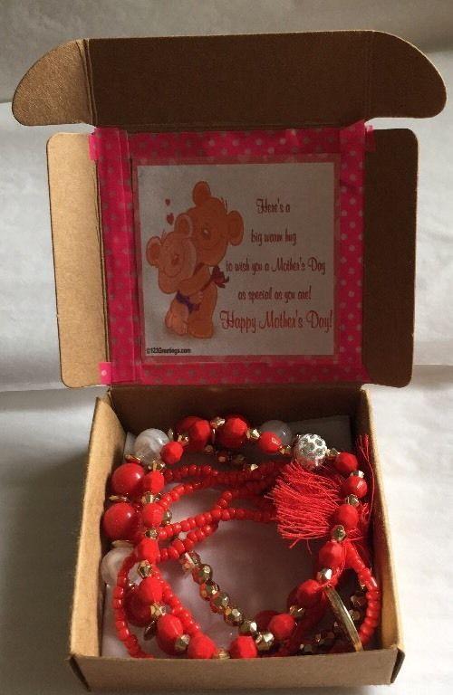 Happy Mothers Day Multi Layered Bracelet In Gift Box    eBay
