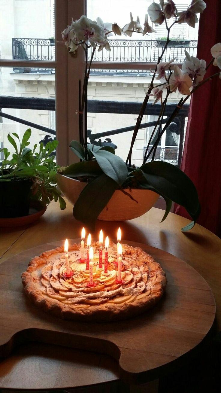 My wife's birthday cake