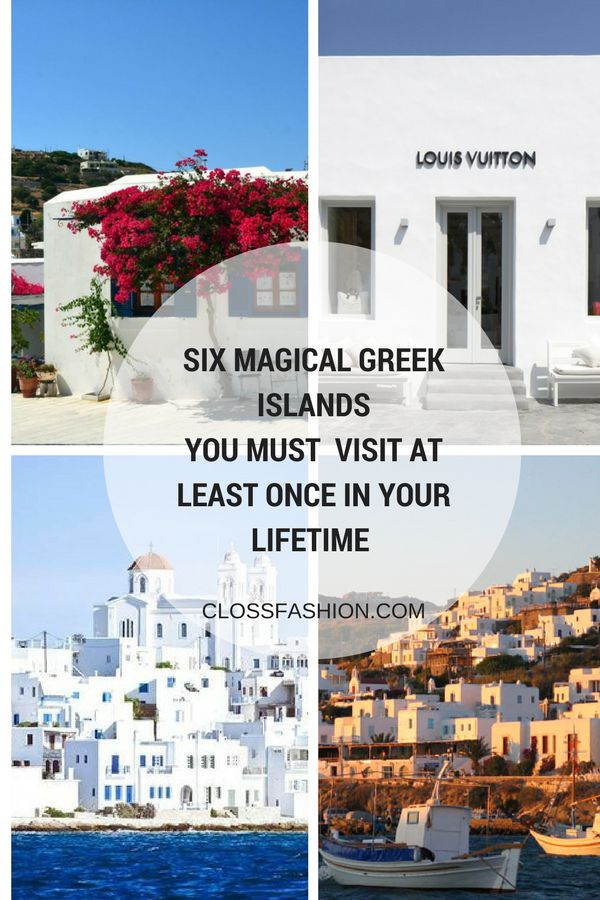 Discover the six most beautiful greek islands . The most wonderful beaches in the greek islands for your vacations are here ! Find out the secrets of cycladic architecture and food in Santorini and Mykonos.Where to stay , eat and relax for the best six greek islands . Also some summer essentials to pack with you ! Read more on clossfashion.com