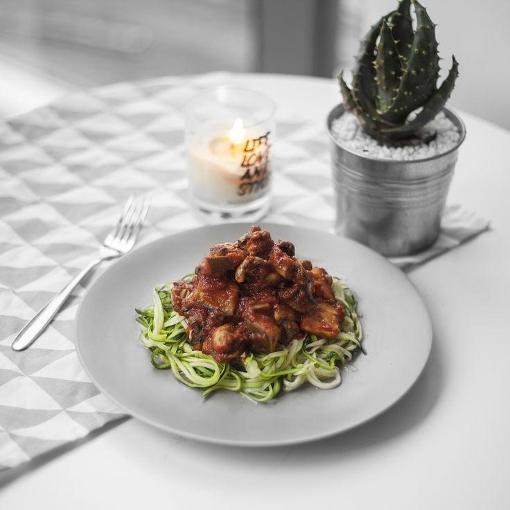 ZUCHINNI PASTA  http://eatrunlift.me/eat-run-lift/2015/11/2/recipe-light-pasta