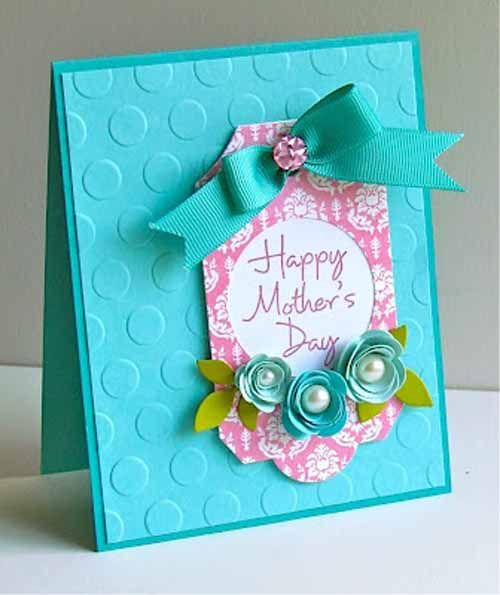 handmade mother's day cards | 21 Cute & Crafty Handmade Mother's Day Cards and Gifts For ...