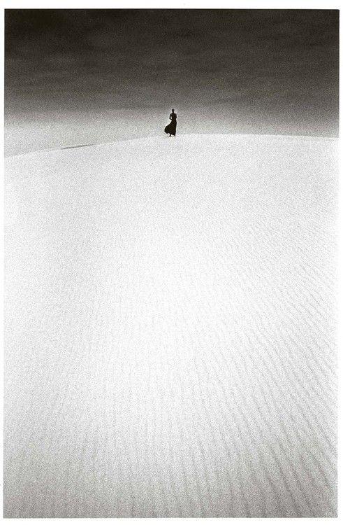 Jeanloup Sieff, Dune du Pilat, France (1973)