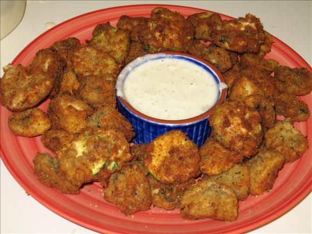 Deep Fried Mushrooms from Food.com:   Just a quick and easy recipe. I tried to find one on here, but this is the bare bones and very yummy!