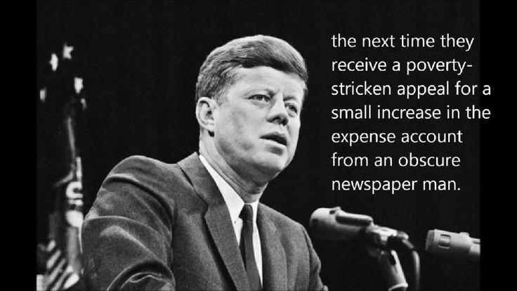 John F. Kennedy Speech Secret Society   LiveLeak.com - JFK Secret Societies Speech (full version)