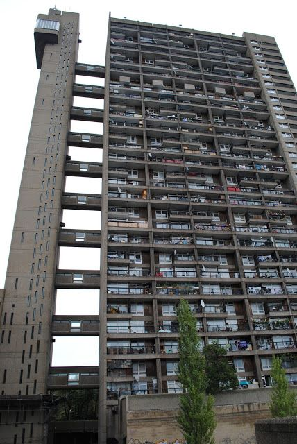 Trellick Tower. A possible exterior for Frank's apartment building.