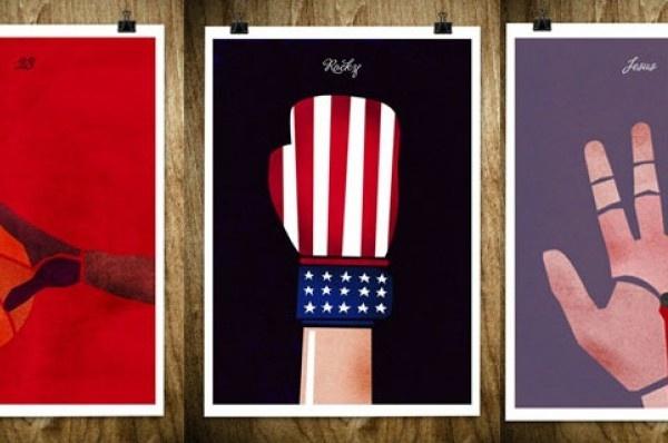 """L'artista Rocco Malatesta, graphic designer e illustratore di base a Berlino, ci presenta uno dei suoi nuovi lavori. Si tratta di una serie di poster raffiguranti mani di personaggi famosi, sportivi e """"altro"""". Date uno sguardo al suo sito personale per ammirare i suoi altri lavori."""
